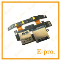 New Sim Card Flex Cable For HTC Desire S G12 S510e Sim Card Slot Repair Parts Free Tracking No.