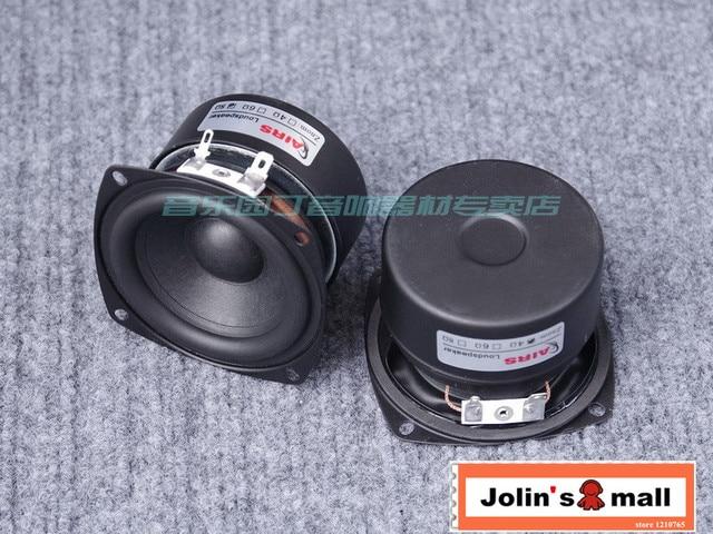 AIRS Speaker Authentic 3 Inch Full Range Speakers Fever Hifi High Sensitivity Vocal Performance 2pcs