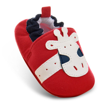 Cotton Fabric Baby Shoe Boys/Girls First Walkers Shoes Infant Toddler Sole Anti-slip Baby Shoes 11cm12cm13cm14cm Size