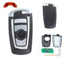 Keyecu 2017 Keyless Entry Car Remote Key Fob 4 Button 315MHz PCF7953/49 Chip for BMW F Series FEM / BDC CAS4 CAS4+