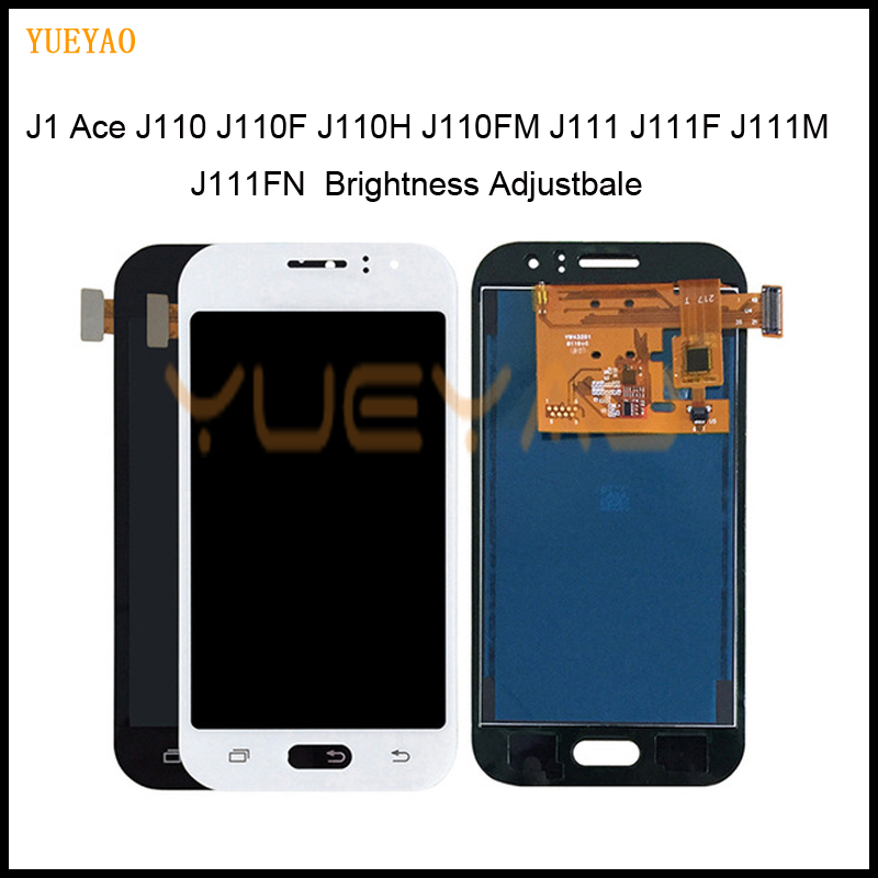 Adjust J1 Ace LCD Display For Samsung Galaxy J1 Ace J110 J110F J110H J110FM J111 J111F J111M J111FN LCD Touch Screen AssemblyAdjust J1 Ace LCD Display For Samsung Galaxy J1 Ace J110 J110F J110H J110FM J111 J111F J111M J111FN LCD Touch Screen Assembly