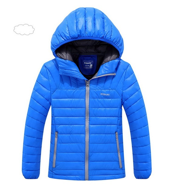 2017 Children Outerwear Winter Boys Thick Down Jacket 2017 New Winter Child Long Warm Coat Boys Hooded Down Outerwear