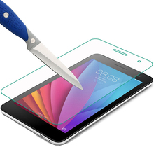 9H 7 Screen Protector for Huawei Mediapad T1 7.0 T1-701u Tempered Glass For Huawei T2 7.0 701w 7 inch Protective Film Protector new 7 inch for huawei honor play mediapad t1 701 t1 701u t1 701u lcd display and touch screen digitizer assembly with tool