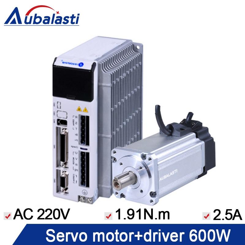 Servo motor 600w servo motor ACM6006L2H-B0-D-SS servo driver L5-750Z 3000rpm ac220v para cnc gravador & máquina de corte