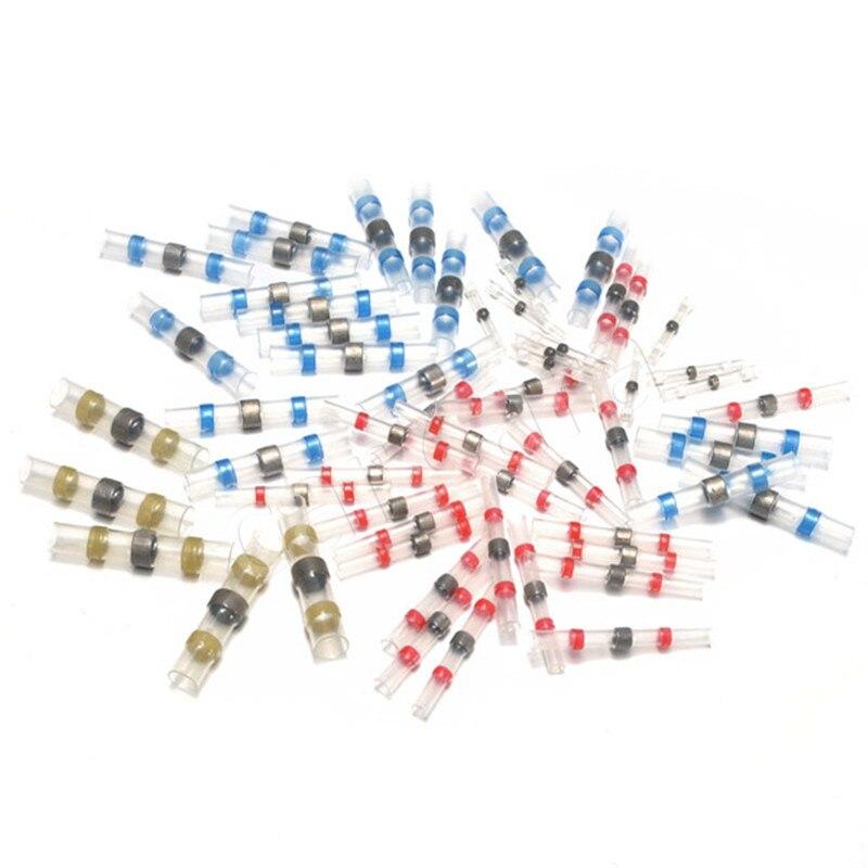 10 Stücke Schrumpf Rohr Crimp Terminals Multicolor Schrumpf Terminatoren Isolierte Elektrische Draht Kabel Anschlüsse Einfach Und Leicht Zu Handhaben