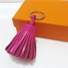 Estelle Wang Genuine Leather Tassels Bag Hanging Accessories