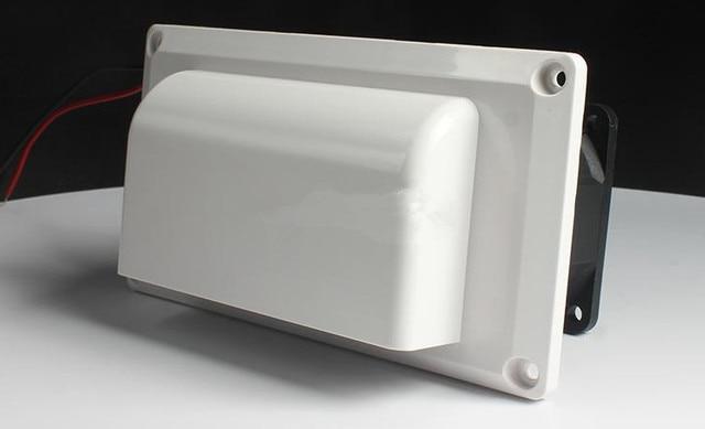 rv vent fan canravan extractor hood side mounted air outlet fan motorhome range fume exhaust fan dc12v 25w