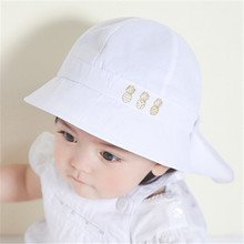 Baby Hat Summer Boys Sun Hat Toddler Baby Girls Hats Autumn Kids Beach Bucket Cap Children Beanies with Shawl Set Accessories