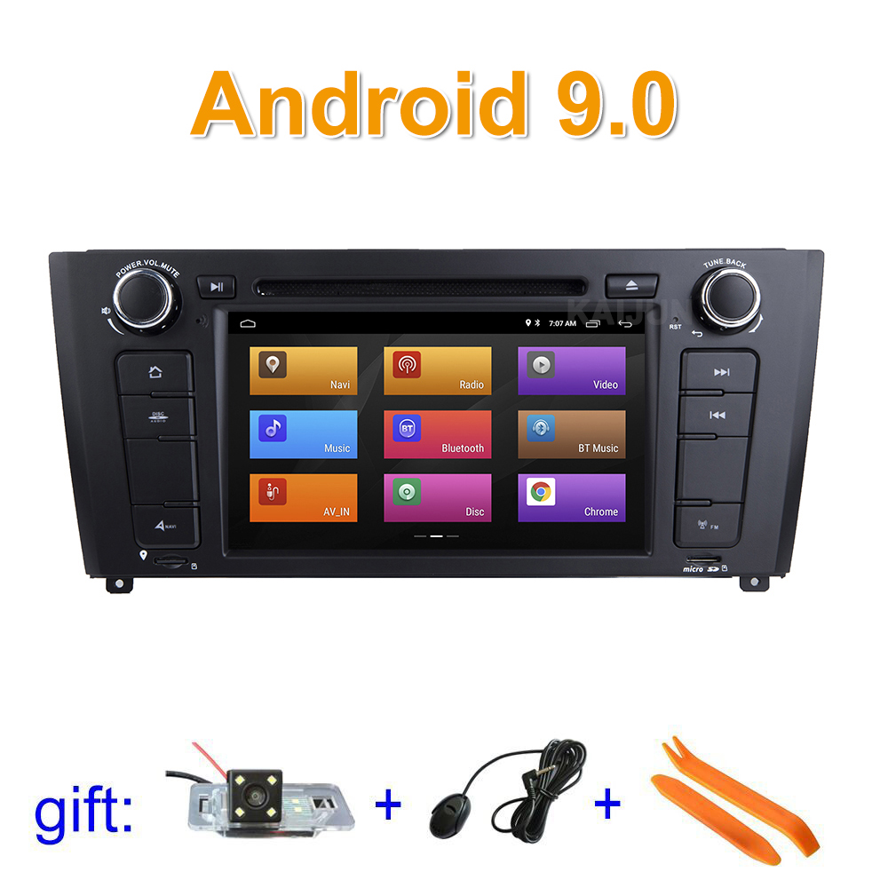 ISP screen Android 9 Car DVD Player for BMW 1 Series E81 E82 E83 E88 2004