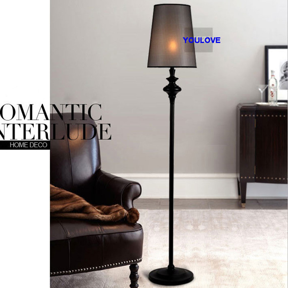 Side Lamps For Living Room Decorating Ideas Orange Walls American Floor Light Fixture European Home Indoor Lighting Foyer Dining Bedroom