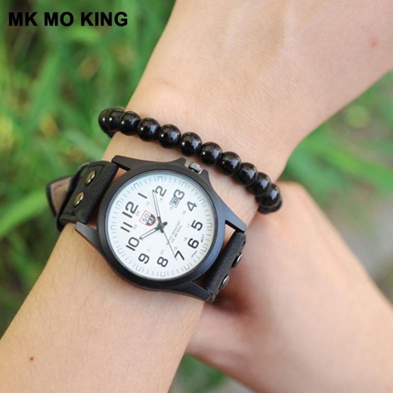 Fashion Outdoor Sports Digital Belt Calendar Men's Military Watch Women's Quartz Clock Leisure Ladies Wrist Watch Gifts Couples