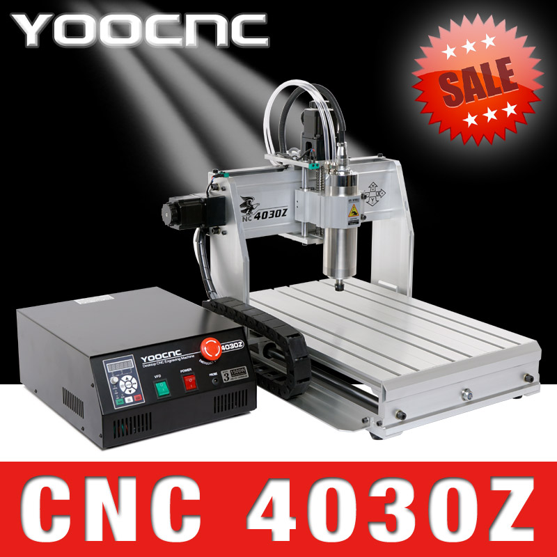 USB ! 4 four axis 3040 cnc router ( 1500W spindle ) wood carving router / mini cnc engraving machine / PCB milling machine free tax desktop cnc wood router 3040 engraving drilling and milling machine