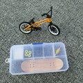2016 High Quality fingerboard and finger bmx bike mini finger skateboard toys for children kids free shipping