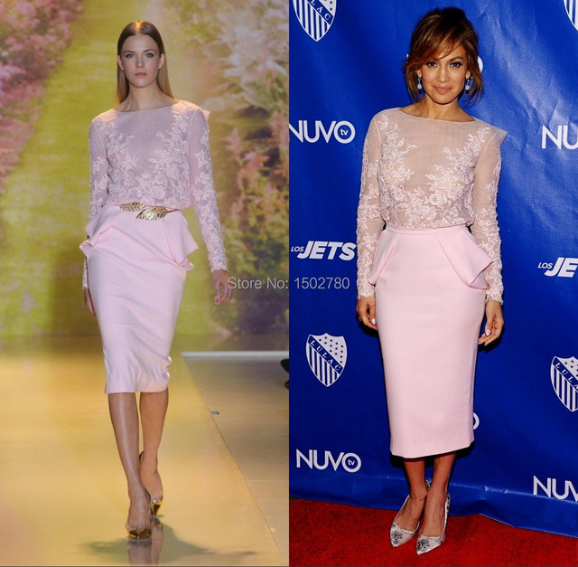 Robe rose jennifer lopez
