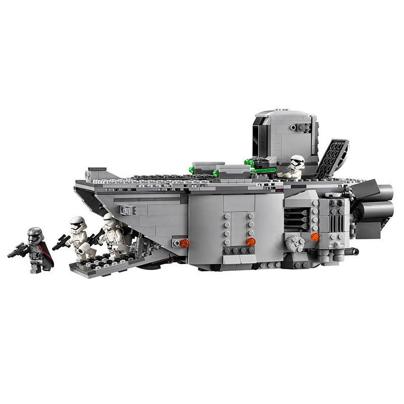 New 845pcs Star Wars First Order Transporter Model Building Blocks Bricks Toys Compatible With LegoINGly Starwars Children Model dark journey star wars the new jedi order