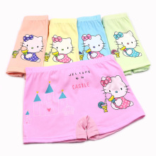 5 pcs/lot New Cotton Children Panties 4 Pcs/lot Girls Briefs Female Child Underwear baby girl panty Clothing