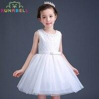 Brand Girl White Ivory Real Party Pageant Communion Dress Girls Kids Children Bridesmaid Toddler Princess Tutu