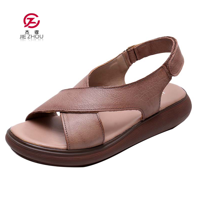 Women Gladiator Sandals Shoes Genuine Leather Hollow out Flat Sandals Ladies Casual Soft bottom Summer Shoes Woman Beach SandalsWomen Gladiator Sandals Shoes Genuine Leather Hollow out Flat Sandals Ladies Casual Soft bottom Summer Shoes Woman Beach Sandals