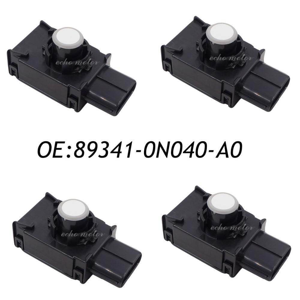 New 4PCS 89341-0N040-A0 89341-0N040 PDC Parking Sensor Bumper Object Reverse Assist Radar For Toyota new 4pcs 89341 0n040 c0 89341 0n040 pdc parking sensor bumper object reverse assist radar for toyota
