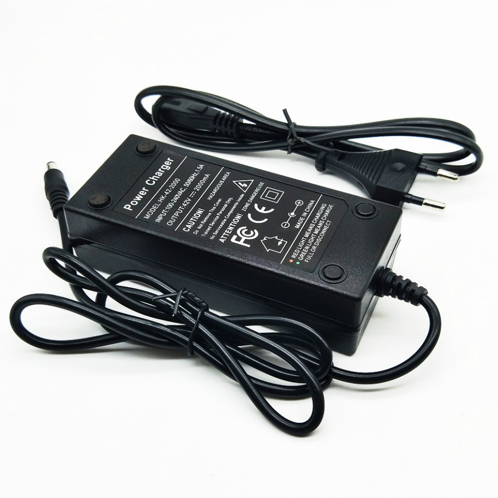 36 V Charger 36 v 2A 004 DC Lithium Battery Charger 16 4 MM Free Shipping in Camera Charger from Consumer Electronics