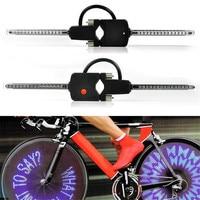 Computer Programmable bicycle wheel light Wireless LED Custom Message Bike Cycle Motor Wheel Lights A30