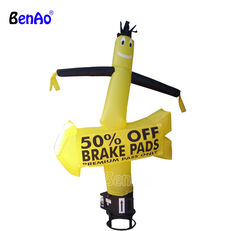 цены AD277 Blower Inflatable Air Dancer With yellow Arrow,Inflatable Advertising Air Dancer,Sky Dancer for party