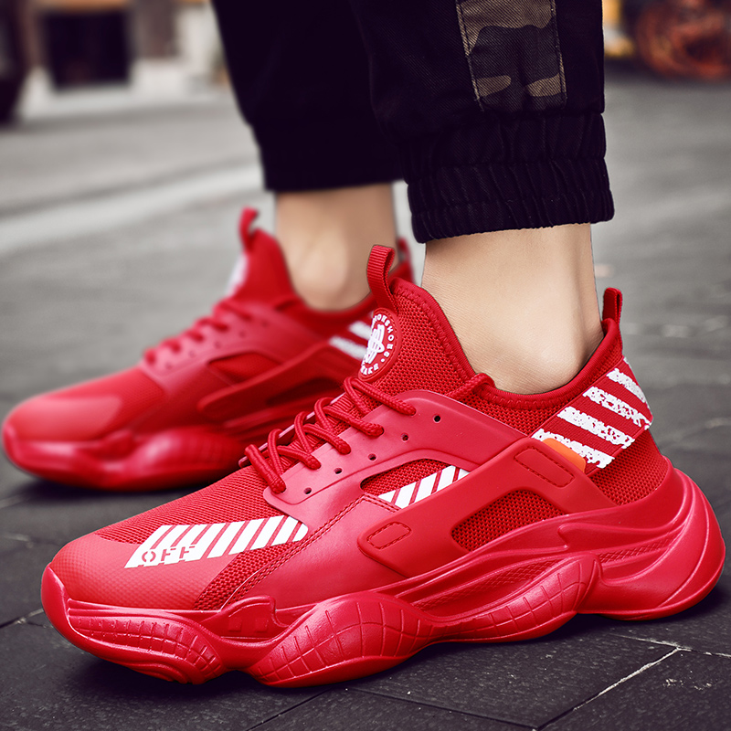 Breathable Running Shoes for Men Woman White Sport Shoes Men Sneakers Zapatos Corrientes De Verano Chaussure