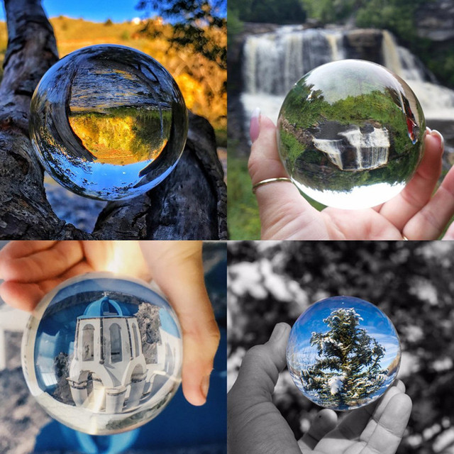 JQJ Asian Quartz Crystal glass Ball photography for sale 6 cm feng shui fashion&gift Home Decor Sphere Magic Healing Globe Balls