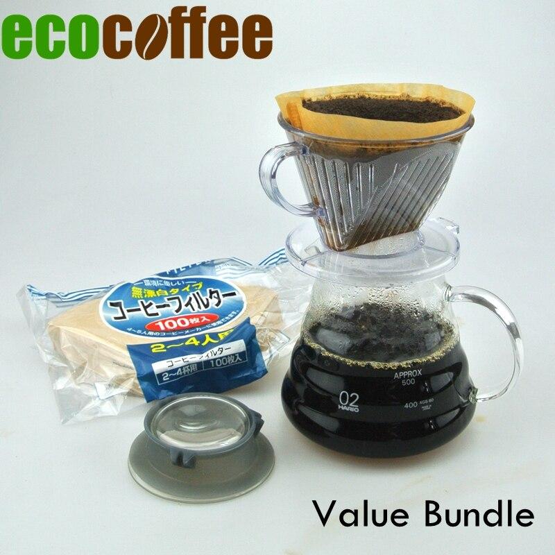 Νέα Άφιξη Οικολογικός Καφές Value Bundle V60 - Κουζίνα, τραπεζαρία και μπαρ - Φωτογραφία 2