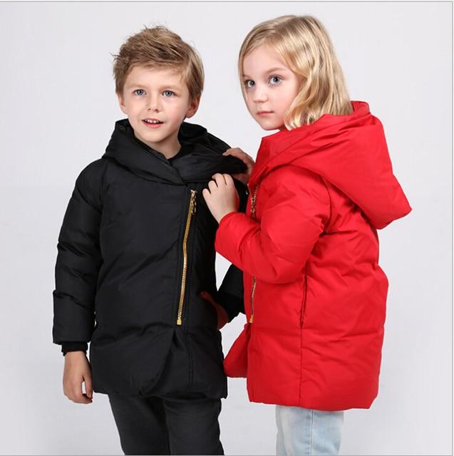 2016 new children's down jacket hooded kids outwear coat boys girls clothing winter coat