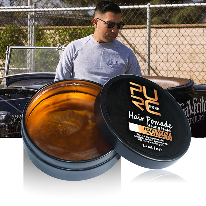 Men Hair Styling Products Strong Hold Natural Look Hair Ancient Hair Cream Product Hair Pomade ...