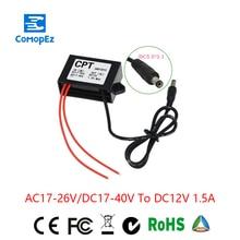AC24V(17-26V)/DC24V(17-40V) to DC12V Buck Converter Step Down Module 1.5A