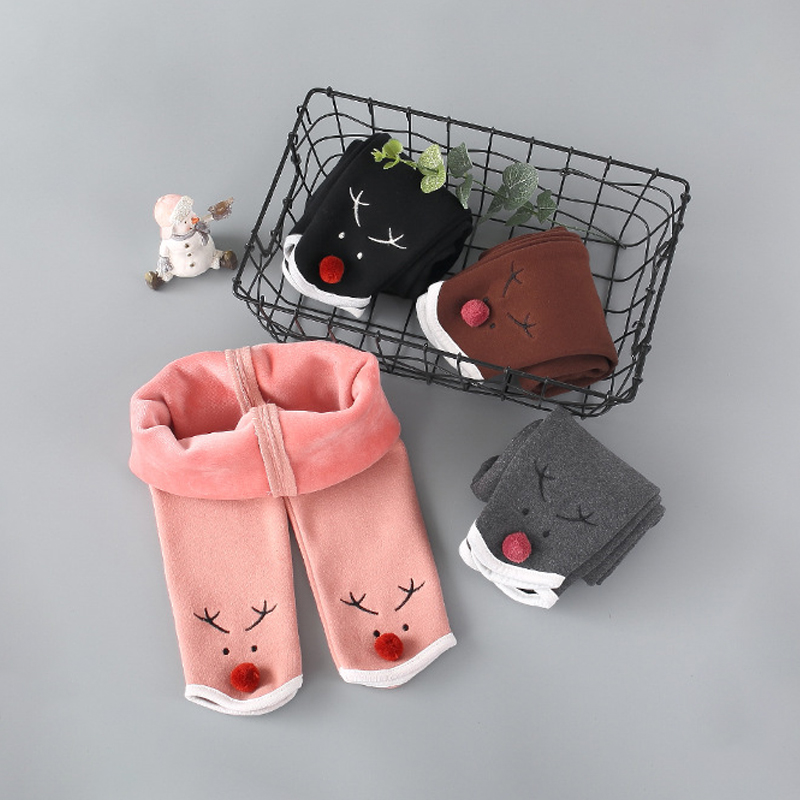 799e9d51a Detail Feedback Questions about Deer Winter Baby Leggings Fleece Thick Baby  Girl Pants Leggings For Children Trousers Thermal Clothes Pantalon Child Boy  ...