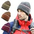 Brand Winter Warm Thick Hip Hop Skullies Hat Women Men Casual Outdoor Sport Snowboard Beanies Bike Cycling Bonnet Gorros A033