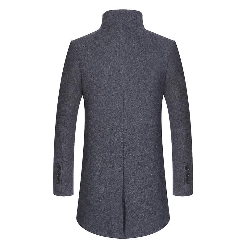 de chaqueta LetsKeep 2018 largo de abrigo hombres lana invierno los qTIvwaPT