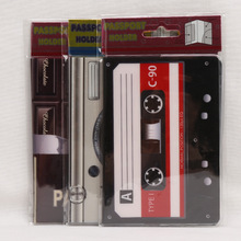 2D Cartoon Passport Holder PVC  Passport Cover Case For Travel,14*9.6cm Card & ID Holders Mini Order 1pcs-3 style for choose