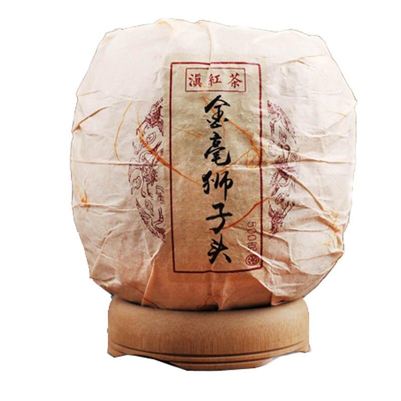 China Tea  500g Jingua Tuo Tea New Arrival 2016 Yunnan Black Tea Dianhong Golden Lion Head Shape Gongfu Hongcha