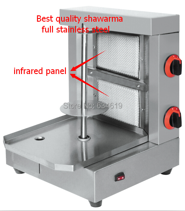 Best quality stainless steel gas bbq shawarma grill, gas infrared - Kitchen, Dining and Bar - Photo 2