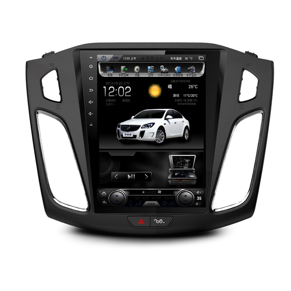 """10.4"""" Android 6.0 Car Audio 2gb Ram 16gb Rom For Ford Focus 2012 2013 2014 2015 Support Steerring Wheel Control 1024*600 To Win Warm Praise From Customers"""