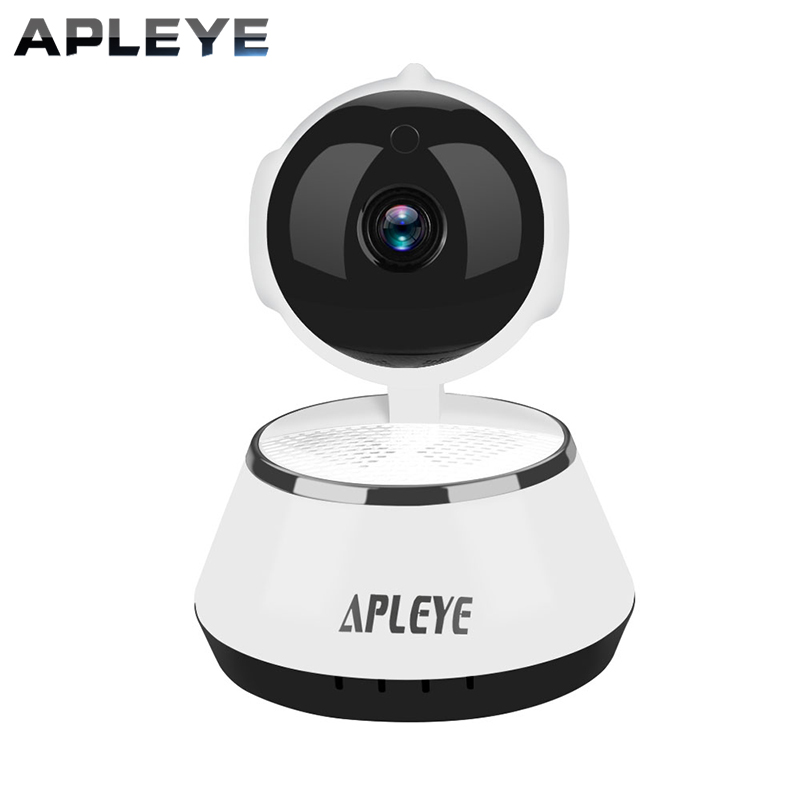 APLEYE 960P HD Wireless IP Camera Eyeball IR-Cut Night Vision Network Pan/Tilt P2P Baby Monitor CCTV Security 960P Wifi Camera wifi ip camera 960p hd ptz wireless security network surveillance camera wifi p2p ir night vision 2 way audio baby monitor onvif