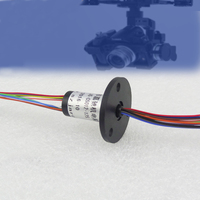 Mini Capsule Slip Ring FPV RC Drone Slip Rings 12 Channel Out Diameter 12mm Electrical Collection