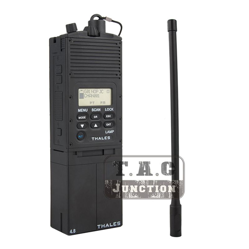 US Tactical AN PRC 148 JEM MBITR Dummy Radio Case Communication 1 1 Replica Model Airsoft Painball 148 Talkie Walkie Case In Tactical Headsets