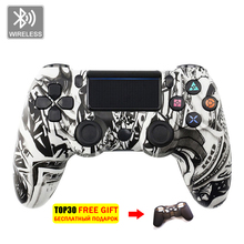 цена на Bluetooth Wireless Joystick for PS4 Controller  Playstation Dualshock 4 Vibration Joystick Gamepads for Play Station 4