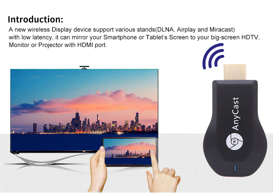 HTB1WPayQFXXXXX6XXXXq6xXFXXXR MiraScreen Wifi Display Receiver For Android & IOS