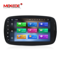 PX5 Carro Android 8.0 Stereo Car DVD Player GPS Para Mercedes Benz INTELIGENTE 2015 2016 Radio BT 4G/Wifi Mapa 1024*600 4G RAM DAB