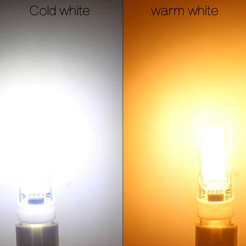 1 шт./лот лампада светодиодный 12 V G4 G9 E14 220 V 3 Вт, 6 Вт, 9 Вт COB светодиодный E14 лампы G9 светодиодные осветительные приборы заменить галогенные Прожектор люстра