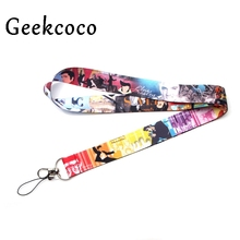 Famous singer diy keychains Accessory Safety Breakaway Mobile Phone USB ID Badge Holder Keys Strap Tag Neck lanyard J0233