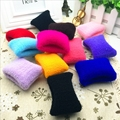 10pcs/lot Fashion 5cm elastic towel hair tie good hair rubber band hair rope ponytail holder for girl mix colors