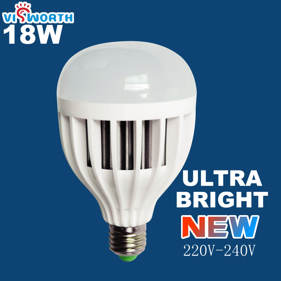 18W LED lamp ultra strong bright bulb 220V E27 led 36 pcs 5730 SMD constant current driver warm white cold white free shipping ultra bright led bulb e27 b22 e40 50w 5730 smd led corn bulb light warm white cold white 1pc free shipping