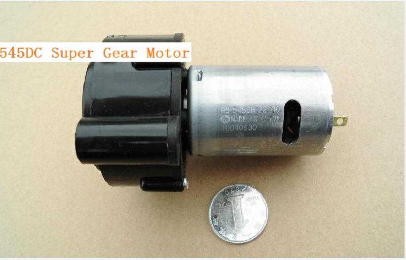 Dc12v 24v 50 100rpm mini electric dc reduction gear motor for Robot motors and parts